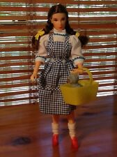 """Vintage Dorothy and Toto Wizard of Oz Collectible Doll Stands 8"""" Tall"""