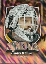 11/12 BETWEEN THE PIPES MASKED MEN 4 SILVER MASK #MM-44 TIM THOMAS BRUINS *48339