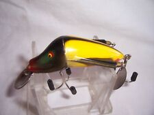 VINTAGE JAMISON WIG-L-TWIN FISHING LURE blkylw
