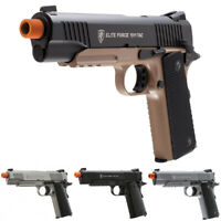 Elite Force Full Metal 1911 A1 TAC Co2 Gas Blowback GBB Airsoft Pistol by KWC