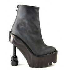 Jeffrey Campbell Rookbee Platform ankle Boots 8