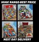 MARVEL AVENGERS COMICS DOONA QUILT DUVET COVER ,IRONMAN,HULK,SINGLE DOUBLE QUEEN