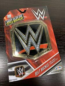 Jakks Pacific Plastic WWE World Heavyweight Championship Title Belt Buckle
