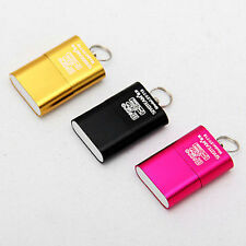 Micro USB 2.0 Mini Memory Card Reader Adapter Reader SD TF T-Flash High Speed