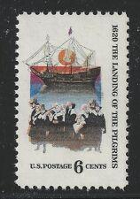 US Scott #1420, Single 1970 Pilgrims 6c FVF MNH