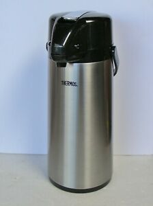 Thermos Brand Stainless Steel Glass Lined 2 Liter Air-Pot
