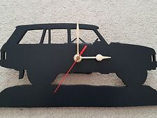 "Land Rover Range Rover Classic 4 Door Early Handmade ""Ideal Gift"" Wall Clock"
