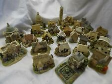 Large Lot of Vintage Lilliput Lane Houses and Buildings