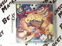 CRASH BOOM BANG FOOTBALL BANDICOOT NINTENDO DS DSi 3DS 2DS PAL ITALIANO COMPLETO