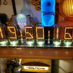 ONE Burroughs B-7971 Neon Nixie Tube from Lectrascan NY Stock Exchange Display