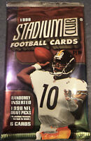 1998 TOPPS STADIUM CLUB NFL FOOTBALL PACKS FACTORY SEALED - MANNING?