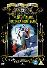 THE NIGHTMARE BEFORE CHRISTMAS (Special Edition) (DVD-2006,1Disc) Region 2.*****