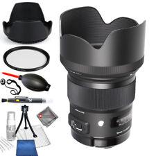 Sigma 50mm F1.4 DG HSM Art Lens for Nikon Cameras - Starter Bundle Brand New!