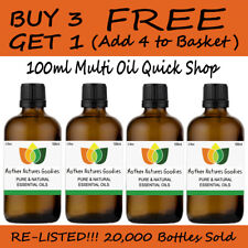 100ml Essential Oil Pure & Natural Aromatherapy - Choose from 60 Oils