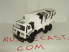 KAMAZ-43101 Russian Army Winter camouflage 6X6 military truck 1:43 scale