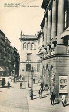 Spain Barcelona - Ayuntamiento y Caja de Ahorros old postcard