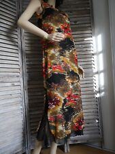 PHILIPPE CHASSAGNARD ROBE été sexy féminine mousseline noir 40 valeur 214€ NEUVE