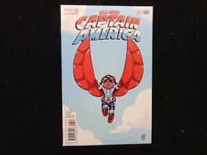 All New Captain America #1 Variant Skottie Young Variant FREE SHIPPING