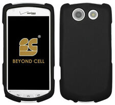 BLACK RUBBERIZED HARD CASE PROTEX COVER FOR VERIZON KYOCERA BRIGADIER E6782