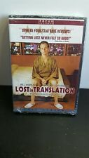 New Sealed Lost in Translation [Dvd] Widescreen Bill Murray