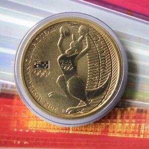 Australian Australia 2012 Australian Olympic Team $1 One Dollar UNC (MAX)