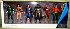 ALEX ROSS JUSTICE LEAGUE 6-PACK DC Collectibles Superman Flash Batman Wonder