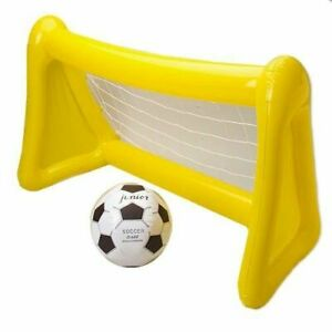 Tri Kids inflatable blow up soccer goal (Yellow)