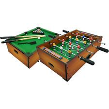 Calcetto Biliardo da tavolo Sport One misura cm 51x31x15 Gioco Regalo