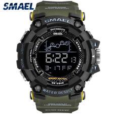SMAEL Men's Date Sport Quartz Military Digital 50M Waterproof Tactical Watches