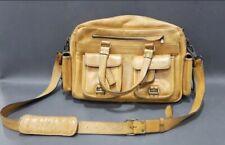 Buffalo Jackson Leather Tan Pilot Bag