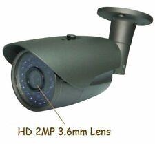 "Sunvision HD 1200TVL 1/3.5"" Sony CMOS Waterproof CCTV Camera 36IR 2MP Lens (146)"
