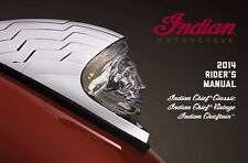 Indian Owners Manual Book 2014 Indian Chieftain