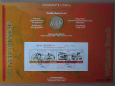 Numisblatt 3/2007 - 175. Geburtstag Wilhelm Busch