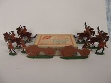 Painted Tin 6-10 Military Personnel Toy Soldiers