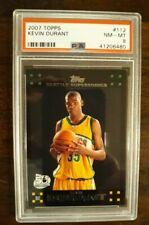 2007 Topps Kevin Durant Rookie Card Black Border Version PSA 8