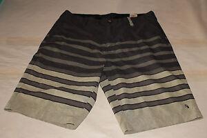Billabong Stripe Platinum Stretch Men's Brown Board Shorts Size 30
