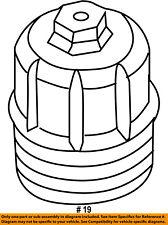 CHRYSLER OEM Engine-Cap 68148345AA