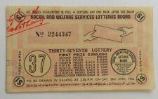 1956 37th Lottery drawn in Kajang