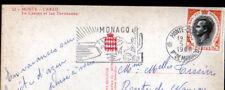 MONTE-CARLO (MONACO) CITROEN DS & RENAULT 4CV au CASINO en 1968
