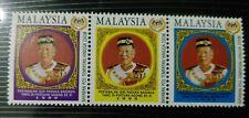 Malaysia 1999 King Agong 3v setenant Stamp MNH clean