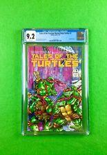 Tales of the Teenage Mutant Ninja Turtles #1 (1987): CGC 9.2! Wraparound Cover!