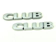 2 x Genuine New VAUXHALL CLUB BADGE Emblem Opel Corsa D 2006+ & Zafira B 2005+