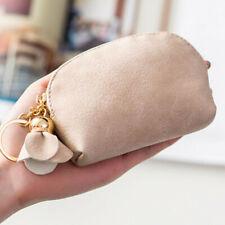 Women Leather Small Mini Wallet Holder Zipper Coin Purse Tote Clutch Handbag CA