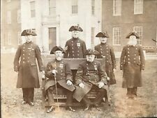 More details for royal hospital chelsea c1900 original photograph of six pensioners by edwin cook