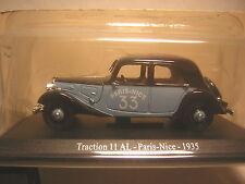1/43 Citroen traction 11 AL Paris-Nice 1935