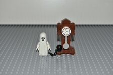 Lego Monster Fighters Grandfather Clock Ghost Glow in Dark Minifigure 30201
