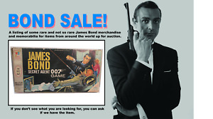 James Bond 007 MB Secret Agent Game 4527 Sean Connery Version - for parts