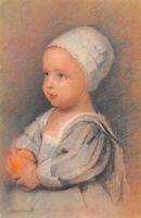 CPA fantaisie - VAN DYCK - Portrait d'Enfant - COMITE NATIONAL DE L'ENFANCE