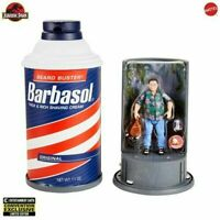 Jurassic Park Dennis Nedry Action Figure 2020 Convention Exclusive No Sticker