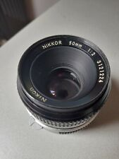 Nikon nikkor 50mm 1:2 manaul lens. Great condition.